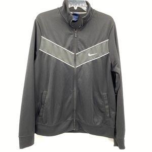 Nike Light Weight Running Jacket Black Size Large